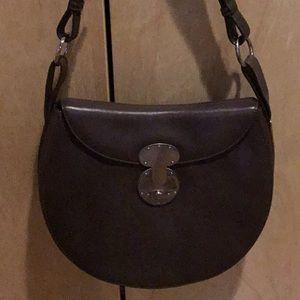 Ralph Lauren Ricky lock Leather shoulder bag